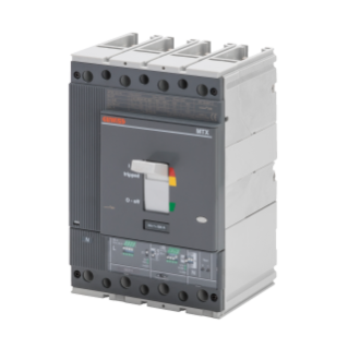 MTXE 320 - MOULDED CASE CIRCUIT BREAKER WITH ELECTRONIC RELEASE - TYPE H - 70KA 4P 250A - SEP/1 MICROPROCESSOR FUNCTION I