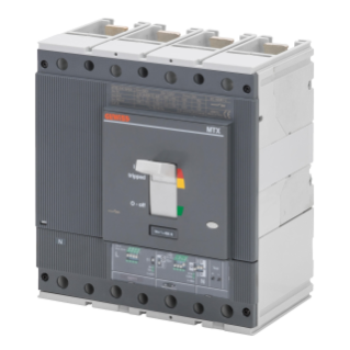 MTXE 630 - MOULDED CASE CIRCUIT BREAKER WITH ELECTRONIC RELEASE - TYPE L - 120KA 4P 630A - SEP/2 MICROPROCESSOR FUNCTION LSI
