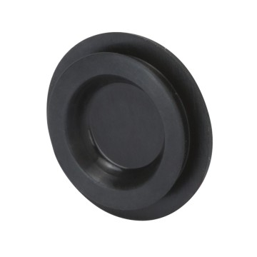 Black screwcap for unwired enclosures for push-buttons with a round shape - Ø 22 mm