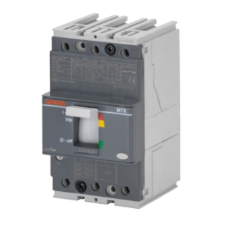 MTX 160c - MOULDED CASE CIRCUIT BREAKER - TYPE B - 16kA 3P 25A TM1 RELEASE IM=10In