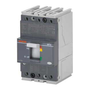 MTX 160c - MOULDED CASE CIRCUIT BREAKER - TYPE C - 25kA 3P 25A TM1 RELEASE IM=10In