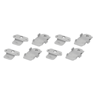 SET OF 4 METAL BRACKETS - CVX 160I - FOR FIXING ON PLASTERBOARD