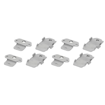 Set of 4 metal brackets