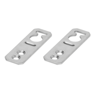 2 BRACKETS FOR WALL MOUNTING FIXING CXV 630M