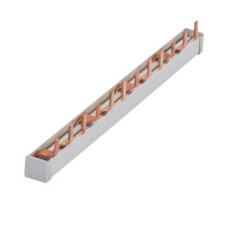 PIN BUSBAR - 3P 63A - 12 MODULES
