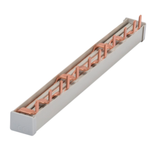 PIN BUSBAR - 4P 80A - 12 MODULES