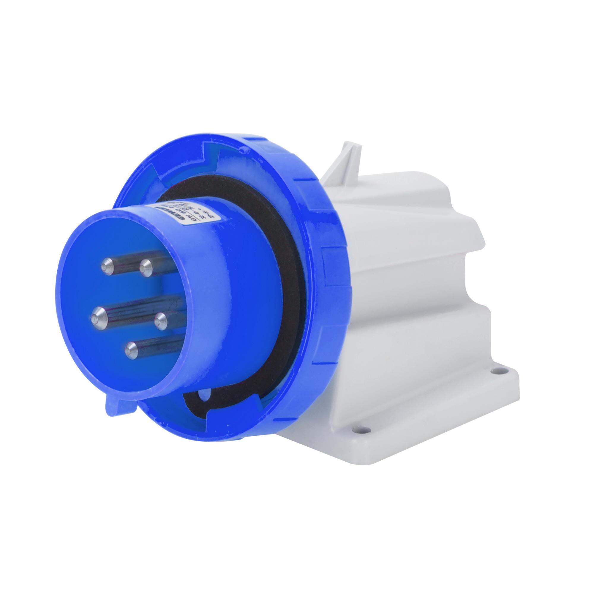 Gewiss IP67 110 V 2P+E angle appareil Inlet GW60423//GW60434