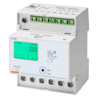 ENERGY METER - THREE PHASE DIGITAL - IP20 - DIRECT 80 A - 4 MODULES