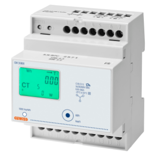 ENERGY METER - THREE PHASE DIGITAL - IP20 - USING TA/5A - 4 MODULES