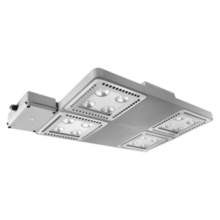 SMART [4] 2.0 LB - 4X4 LED - EXTENSIVA 100° - EMERGENCIA - 4000 K (CRI 80) - 220/240 V 50/60 Hz - IP66 - CLASE I - GRIS RAL 7037