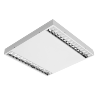 ASTRID 60X60 - LED - LUMINAIRE - STAND ALONE - DARK LIGHT OPTIC -28W-4000K (CRI 80)-220/240 V 50/60 HZ - IP20 - CLASS I - WHITE