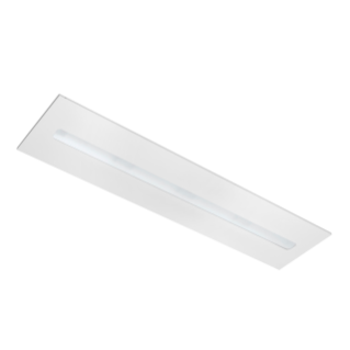 ASTRID 30X120 - LED - ENCASTRÉ - AUTONOME - OPTIQUE DIFFUSANTE - 4000K (CRI 80) - 220/240V 50/60HZ - IP20 (IP40 COMPARTIMENT OPTIQUE) - BLANC