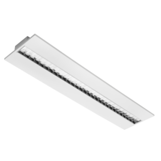 ASTRID 30X120 - LED - ENCASTRÉ - DALI - DARK LIGHT- 4000K (CRI 80) - 220/240V 50/60HZ - IP20 (IP40 COMPARTIMENT OPTIQUE) - BLANC