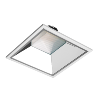 ASTRID SQUARE - LED-DOWNLIGHT - 250X250 MM - INDEPENDIENTE - 29W - 3000K (CRI 80) - 220/240V 50/60HZ - IP20 (IP40 VANO ÓPTICO) - CLASE II - BLANCO