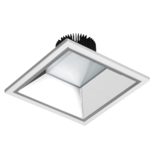 ASTRID SQUARE - LED - DOWNLIGHT - 200X200 MM - STAND ALONE - 19W - 4000K (CRI 80) - 220/240V 50/60HZ - IP20 (IP40 OPTICAL COMPARTMENT) -CLASS II-WHITE