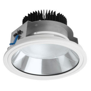 ASTRID ROUND - LED - DOWNLIGHT - Ø 200 MM - STAND ALONE - 19 W - 4000K (CRI 80) - 220/240V-50/60HZ - IP20 (IP40 OPTICAL COMPARTMENT) - CLASS II -WHITE