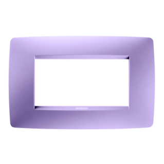 ONE PLATE - IN TECHNOPOLYMER - 4 GANG - AMETHYST PURPLE - CHORUS