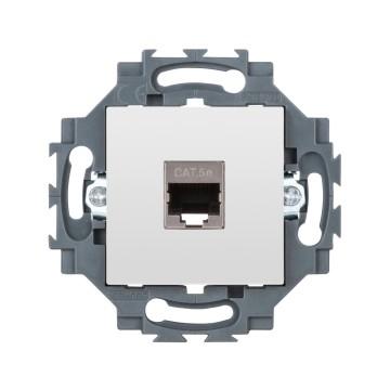 socket outlet gw35272w gewiss utp wiring diagram rj45 socket 4 pairs category 5e ftp toolless 2 module white dahlia