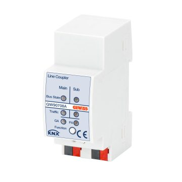 Line/field coupling - IP20 - DIN rail mounting