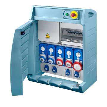 68 ACS Range<br />ACS distribution board system for construction sites