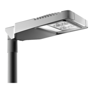 ROAD [5] - MEDIUM - 5 MODULES (5x3 LED) - OPTIQUE HUGE - BI-RÉGIME AVEC AUTO-APPRENTISSAGE - 4000K (CRI70) - 0,7 A - 220/240V 50/60Hz IP66 - CLASSE II