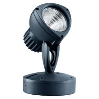 DEDALO - LED - NARROW BEAM - CIRCULAR OPTIC 20° - 1X18W - 3000K (CRI 80) - 220/240V-50/60HZ - IP66 - CLASS II - MIDNIGHT BLUE