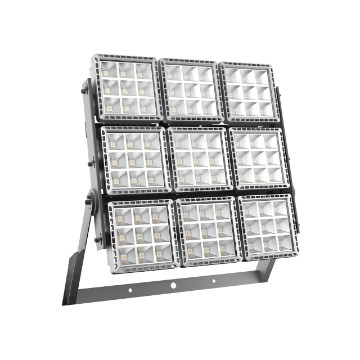 High power floodlight made in die cast aluminium - 9 modules - Equivalent to 2000 W MT - IP66 - class I