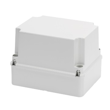 Junction boxes with deep screwed lid - IP56 - Grey RAL 7035