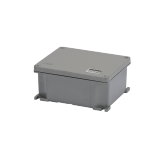 JUNCTION BOX IN DIE-CAST ALUMINIUM - PAINTED - METALLIC GREY - 239X202X85 - IP66