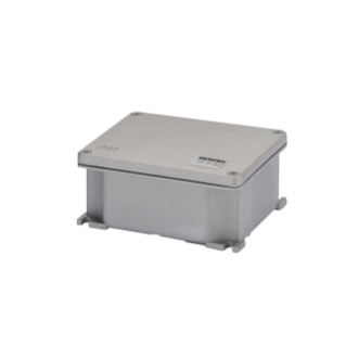 JUNCTION BOX IN DIE-CAST ALUMINIUM - UNPAINTED - 178X156X75 - IP66