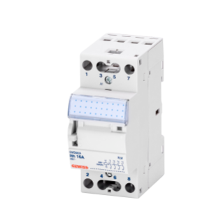 INSTALLATION RELAY - 16A -  4 NO - 12V ac - 2 MODULES