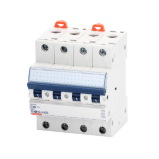 MINIATURE CIRCUIT BREAKER - MT 60- 4P CHARACTERISTIC C 50A - 4 MODULES