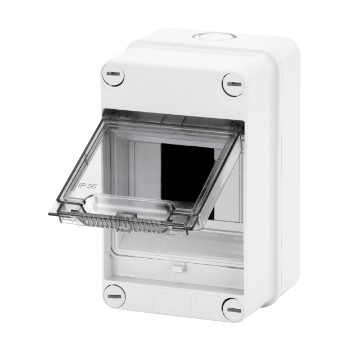 Enclosures predisposed for terminal block - Grey RAL 7035
