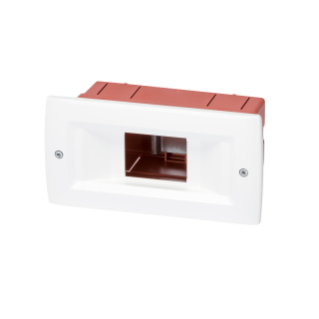 FLUSH-MOUNTING ENCLOSURE 2 MODULES IP40