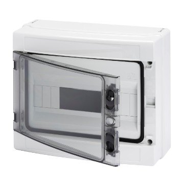 Enclosures prearranged for housing terminal blocks Transparent smoked door - smooth walls - IP65