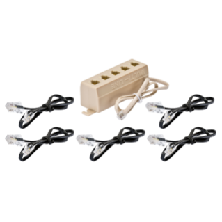 KIT EXPANTION TELEPHON SOCKET-OUTLET - FOR HOME NETWORKING CABLING