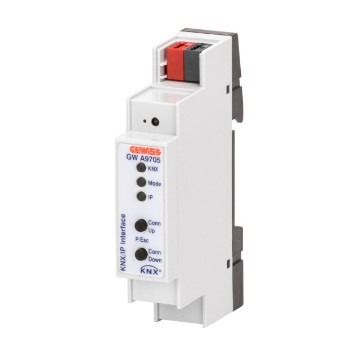Interface KNX/IP - IP20 - pour rail DIN