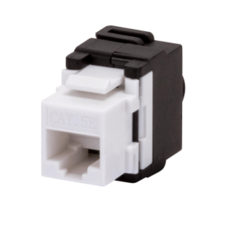 RJ45 SOCKET - UNSHIELDED - 5e CATEGORY - UTP