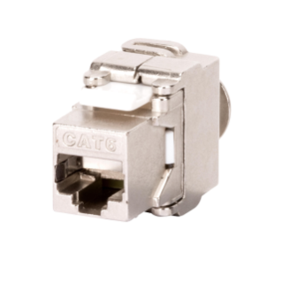 RJ45 SOCKET - SHIELDED - 6 CATEGORY - FTP