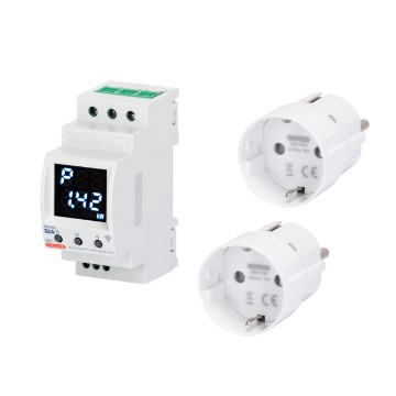 Pre-installed kit P-Comfort RF ZIGBEE and Smart plug