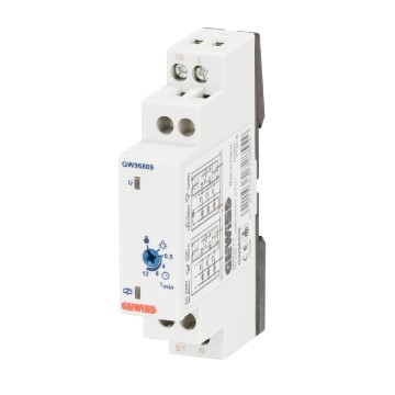 Staircase lighting time delay switches