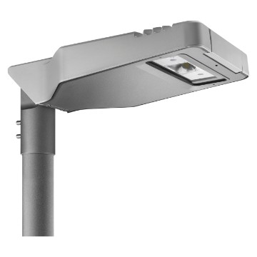 Street lighting in die-cast aluminium - IP66 - Flat glass - Class I