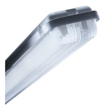 ZNT Range Watertight professional polycarbonate ceiling mounting luminaires