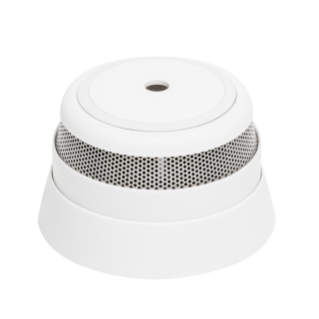 SMOKE ALARM - WHITE - IP20 - BATTERY OPERATED - ZIGBEE
