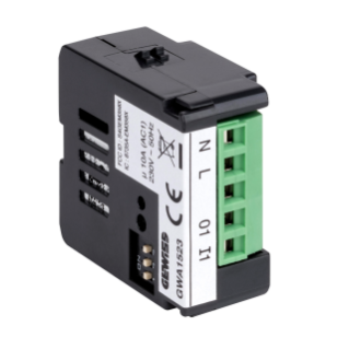 SWITCH ACTUATOR WITH POWER MEASUREMENT - 1 CHANNEL 230V - ZIGBEE