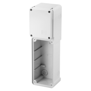 MODULAR BASE FOR MOUNTING COMBINATION OF FIXED VERTICAL SOCKET OUTLET - 1 16/32A SBF - IP55