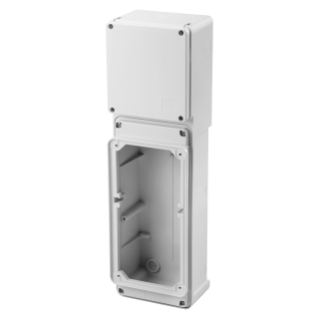 MODULAR BASE FOR COMBINATION MOUNTING OF VERTICAL INTERLOCKED SOCKET OUTLET - 1 SOCKET OUTLET 63A CBF - IP55