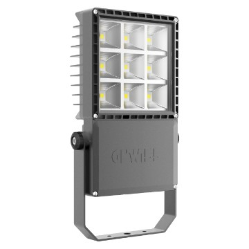Medium power floodlight made in die cast aluminium - IP66 - Class I - Dimmable 1-10V