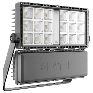 Medium power floodlight made in die cast alluminium - IP66 - Class I - Dimmable DALI