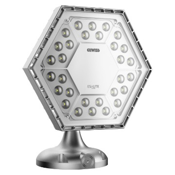 LED version - RAL 9006 grey - IP66 - Class I - DALI driver